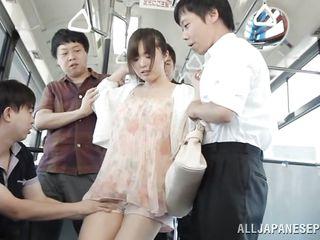 Японское порно на публике